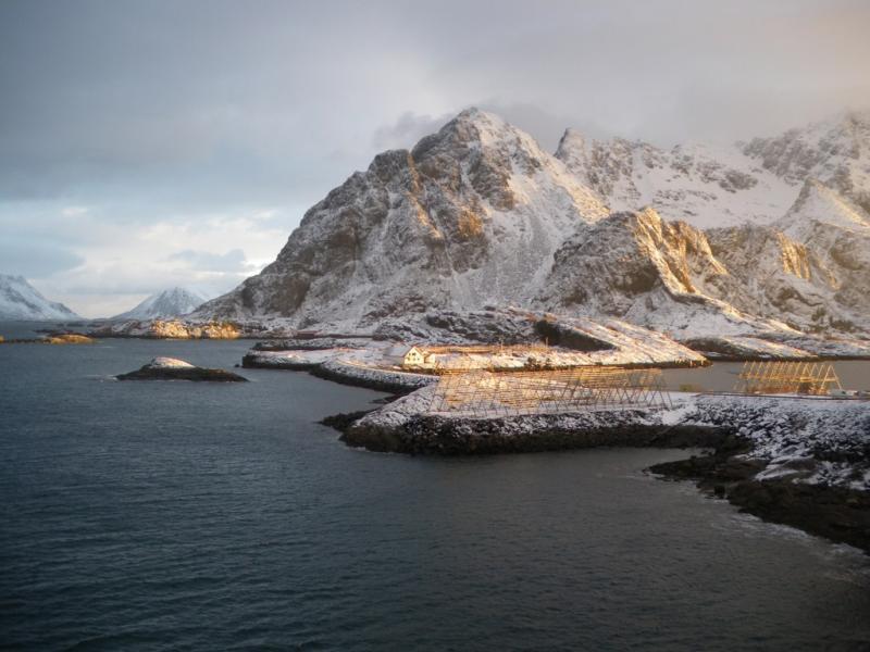 Lofoten scialpinismo
