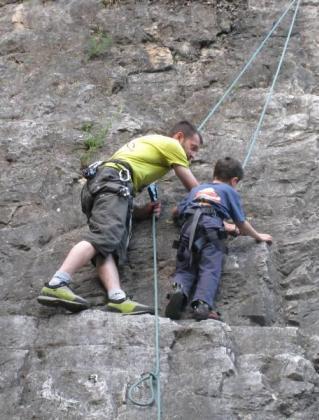 Corso arrampicata bambini