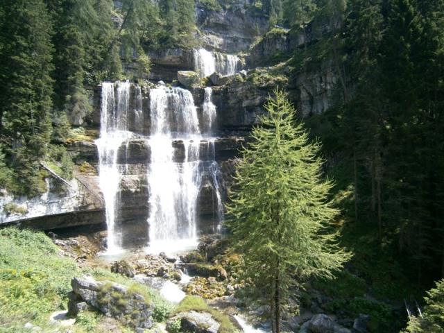 cascate di mezzo Vallesinella