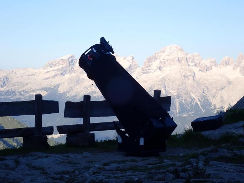 cena sotto le stelle guide alpine rifugio segantini (1)