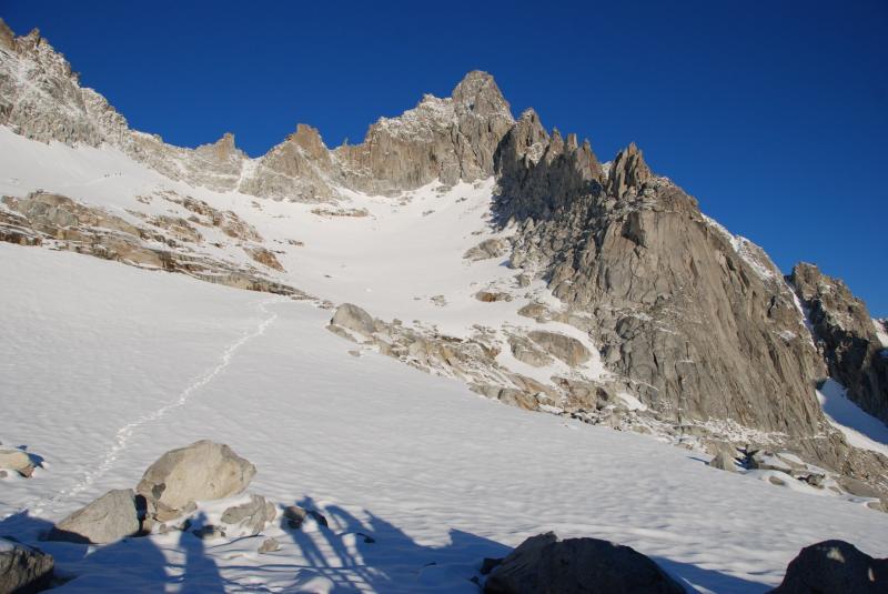 verso il passo del monte Nero