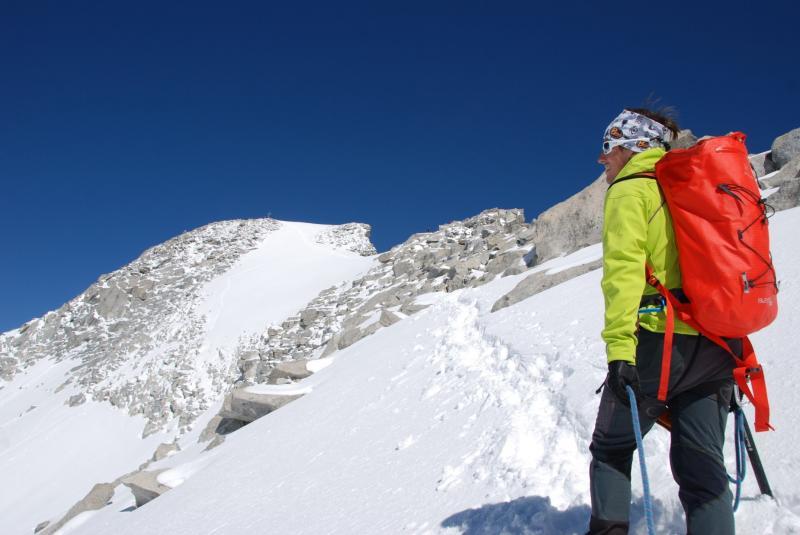 in vista della cima Presanella