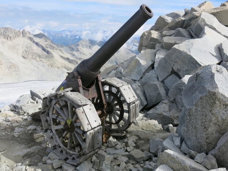 il cannone di Cresta Croce