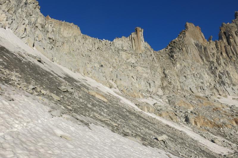 il passo del monte Nero