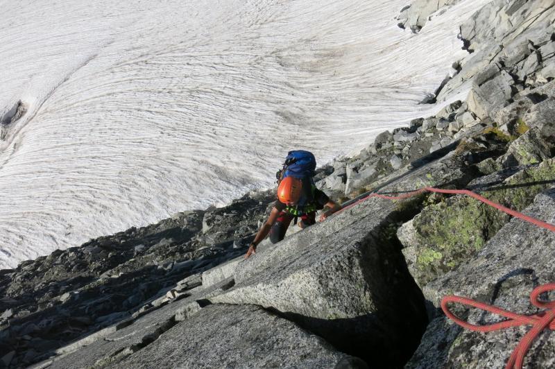 ina arrampicata sulla parete Cerana