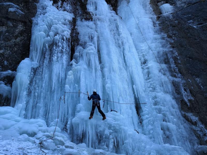 esercizi sul ghiaccio