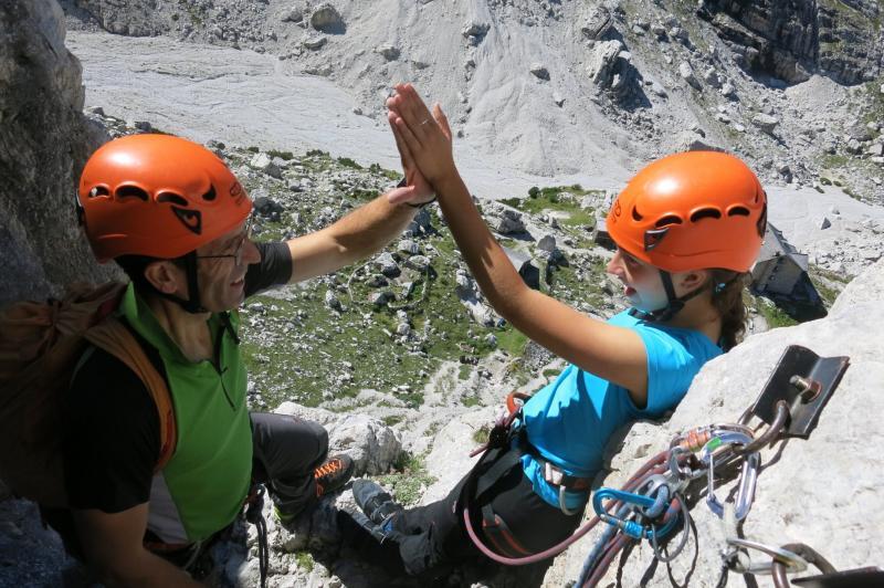 momenti della scalata