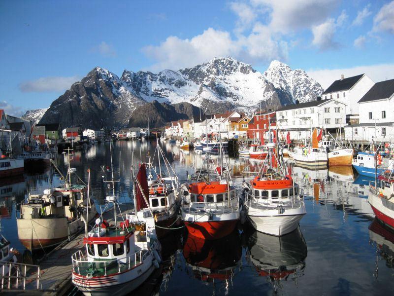 Norvegia Lofoten