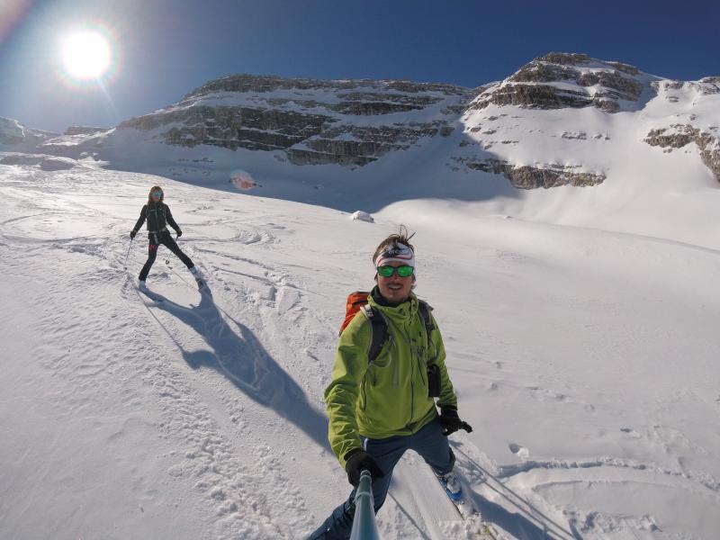 sci alpinismo cima roma