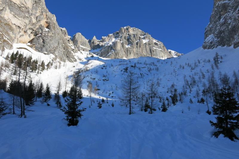 sci alpinismo in val gelada