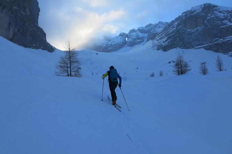 sci alpinismo val gelada